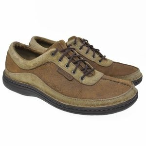Merrell Sz 10 Brown Leather Oxford Casual Shoes